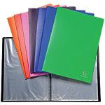 Protège documents soudé Exacompta Opaque Polypro 40 pochettes A4 Assortiment   10 Unités