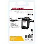 Cartouche jet d'encre Office Depot Compatible HP 62 Noir C2P04AE