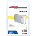 Cartouche jet d'encre Office Depot Compatible Epson T7024 Jaune