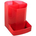 Pot à crayons Exacompta Linicolor 9 x 12,3 x 11,1 cm Rouge