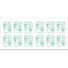 Timbres postaux autocollants La Poste Vert   12 Unités