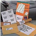 Étiquettes Avery DP246 100 Blanc 2400 étiquettes 2400 étiquettes