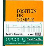 Piqûre position de compte Exacompta Exacompta A5 110 g