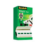 Ruban adhésif Scotch Magic 19 mm x 33 m Transparent 14 Rouleaux