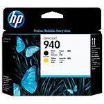 Tête d'impression HP D'origine 940 Noir, Jaune C4900A