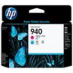 Tête d'impression HP D'origine 940 Cyan, Magenta C4901A