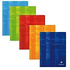 Cahier petits carreaux piqué Clairefontaine Metric A4+ Coloris aléatoire 96 Pages   48 Feuilles
