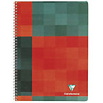 Cahier double spirale Clairefontaine A5+ Matris 90 g