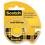 Ruban adhésif Scotch Double face Transparent 1,2 cm