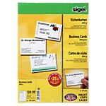 Cartes de visite Sigel 3C 200 g