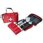 Trousse de secours souple ESCULAPE 12 (H) x 18 (l) x 5 (P) cm Rouge
