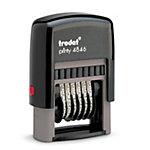 Numéroteur 6 bandes Trodat Printy 4846 Noir 2,7 x 0,4 cm