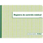Registre contrôle médical Exacompta 24 x 32 cm 110 g