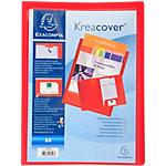 Chemise de présentation personnalisable Exacompta Krea Cover A4 Rouge