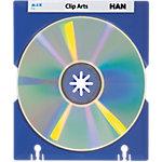 Boîte de rangement HAN Pour 60 CD et DVD