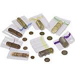 Tubes plastique 50 cents 1 euro   5000 Unités