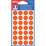 Pastilles adhésives APLI Apli Orange 168 Unités