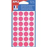 Pastilles adhésives APLI Apli Rose 168 Unités