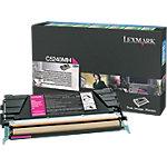 Toner Lexmark D'origine C5240MH Magenta