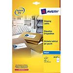 Étiquettes d'adresses AVERY Zweckform Quick DRY Blanc 100 étiquettes 25