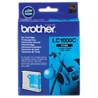 Cartouche jet d'encre Brother D'origine LC1000C Cyan
