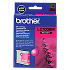 Cartouche jet d'encre Brother D'origine LC1000M Magenta