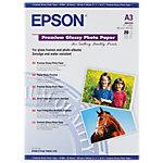 Papier photo Brillant Blanc Epson Premium Glossy A3 255 g