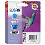 Cartouche jet d'encre Epson D'origine T0802 Cyan C13T08024011