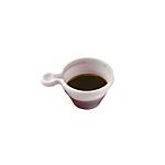 Tazzine Gio'Style Caffè Espresso Plastica 85 cc bianco 50 unità