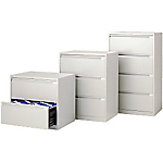 Classificatore Bisley 2 cassetti cassetti grigio