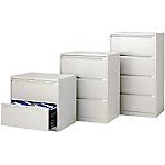 Classificatore Bisley per cartelle sospese 4 cassetti cassetti grigio