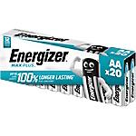 Pile Energizer Max Plus AA 20 unità