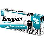 Pile Energizer Max Plus AAA 20 unità