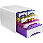 Cassettiera CEP Happy bianco artic 5 cassetti 28,8 x 36 x 27 cm
