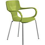 Sedia per sala d'attesa Sofia verde 2 unità
