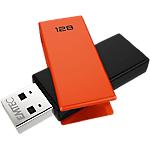 Chiavetta USB EMTEC C350 128 gb arancione