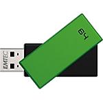 Chiavetta USB EMTEC C350 64 gb verde