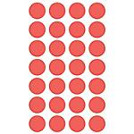 Etichette autoadesive APLI Rosso 168 etichette