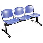 Sedia per sala d'attesa UNISIT D5P3P blu