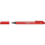 Fineliner STABILO Pointmax tonda 0.8 mm rosso 10 unità