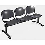 Sedia per sala d'attesa UNISIT D5P3P nero