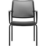 Sedia per visitatore Dauphin SYNC nero