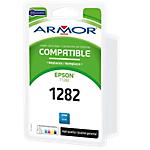 Cartuccia inchiostro t1282 compatibile ARMOR b12589r1 ciano