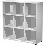 Libreria Artexport Easy Cube Grigio 1.210 x 400 x 1.190 mm