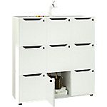 Libreria Artexport Easy Cube Bianco 1.190 x 400 x 1.206 mm