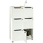 Libreria Artexport Easy Cube Bianco 800 x 400 x 1.210 mm