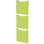 Ante per libreria Artexport Easy Cube Verde 3 unità