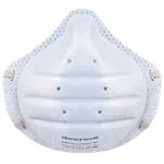 Mascherina antipolvere Honeywell SuperOne 3203 Tessuto bianco 30 unità
