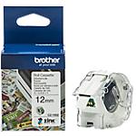 Etichetta multiuso Brother CZ 1002 12 x 120 mm verde su bianco