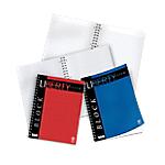 Blocchi spiralati Pigna Liberty A4+ Rosso, Blu A quadretti 29,7 (h) x 21 (l) cm 4 fori 70 g